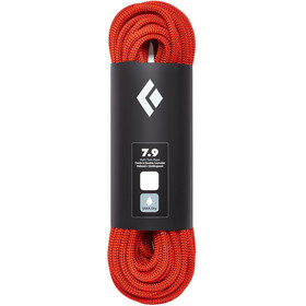 Black Diamond 7.9 Dry - Corde d'escalade - 70m orange